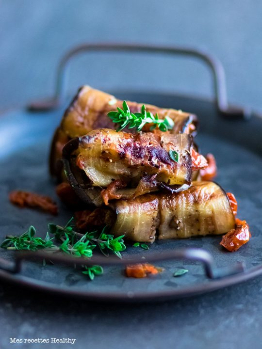 recette healthy-aubergine-roule-legume-mozzarella