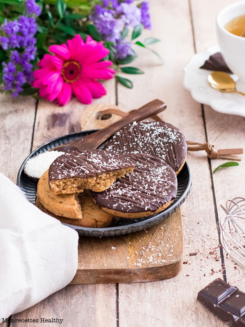 Biscuit granola healthy fait maison