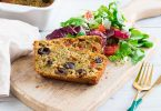 recette healthy-cake salé-tomate-olive