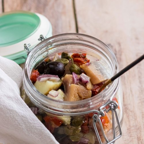 recette healthy-hareng-pomme de terre