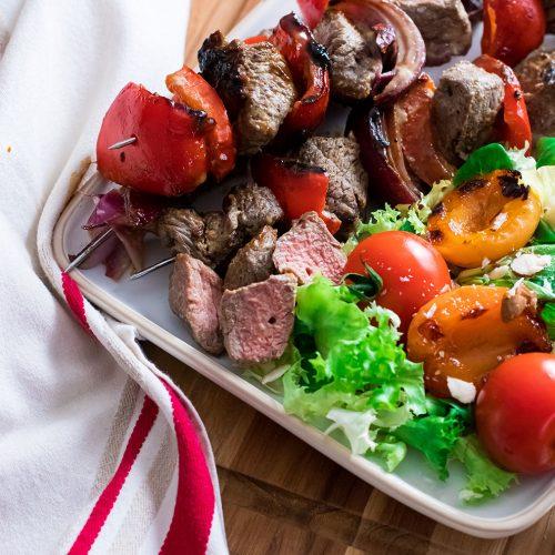 recette healthy-brochette taureau-barbecue-grillade