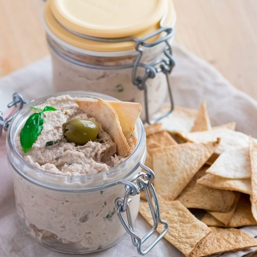 recette healthy-rillette de Thon-ricotta