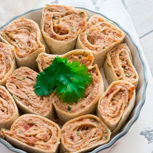 recette healthy-wrap au thon-ricotta-tomate séchée