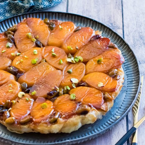 recette healthy-tarte tatin abricot