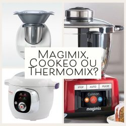 Comparatif des robots cuisine: Thermomix, Magimix ou Cookeo ?