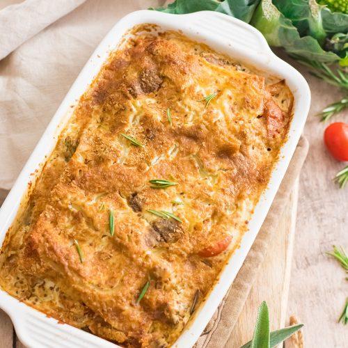 recette healthy-lasagne-chou romanesco-saumon