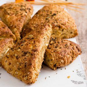 recette healthy-scone-chevre-basilic-sale