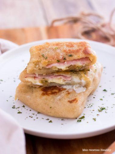 recette healthy-chausson pomme de terre-reblochon-bacon