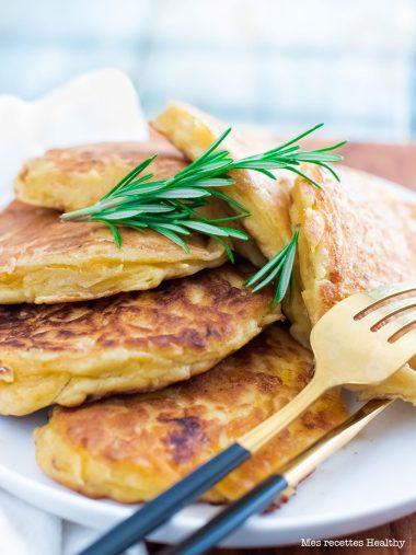 recette healthy-galette Butternut-fromage de chèvre